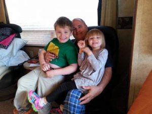 Nov 2014 Jim, Liam, Presley at RV