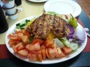 Grilled Chicken Salad at Mildred's, Lewisburg, TN