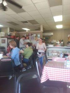 Inside Cheryl's Cafe