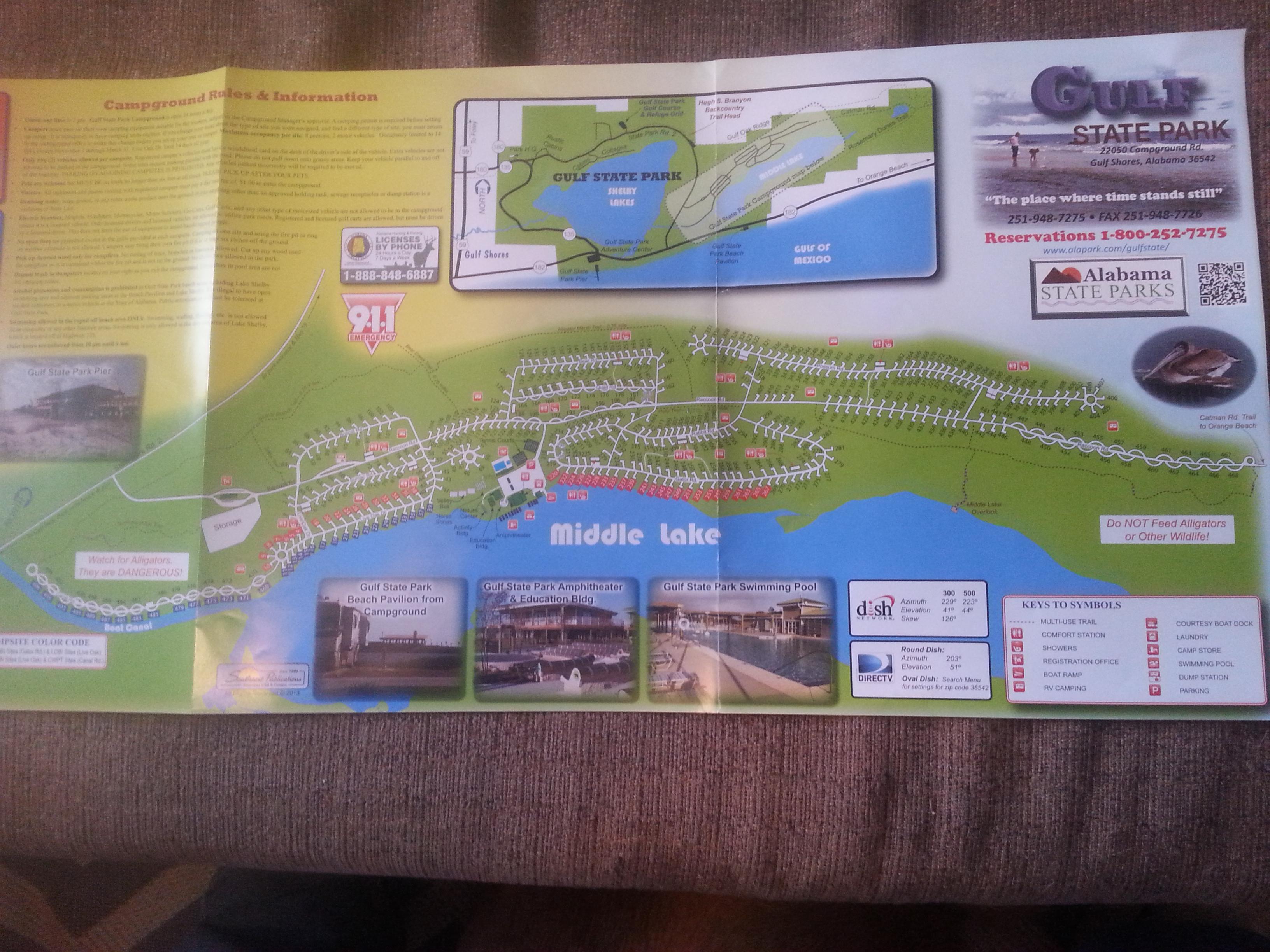 Gulf State Park Campground Map | compressportnederland