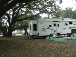 One of the sites we liked at the campground