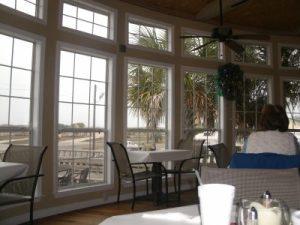 Islanders Restaurant has a nice view