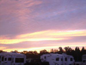 Winter Sunrise at Azalea Acres