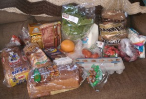 Shopping for food like a local -  today's haul