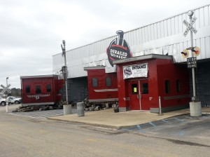 Derailed Diner at Oasis Truck Stop