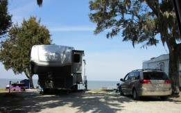 RV's on the Bay