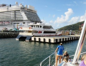 Getaway at port of Tortola, BVI