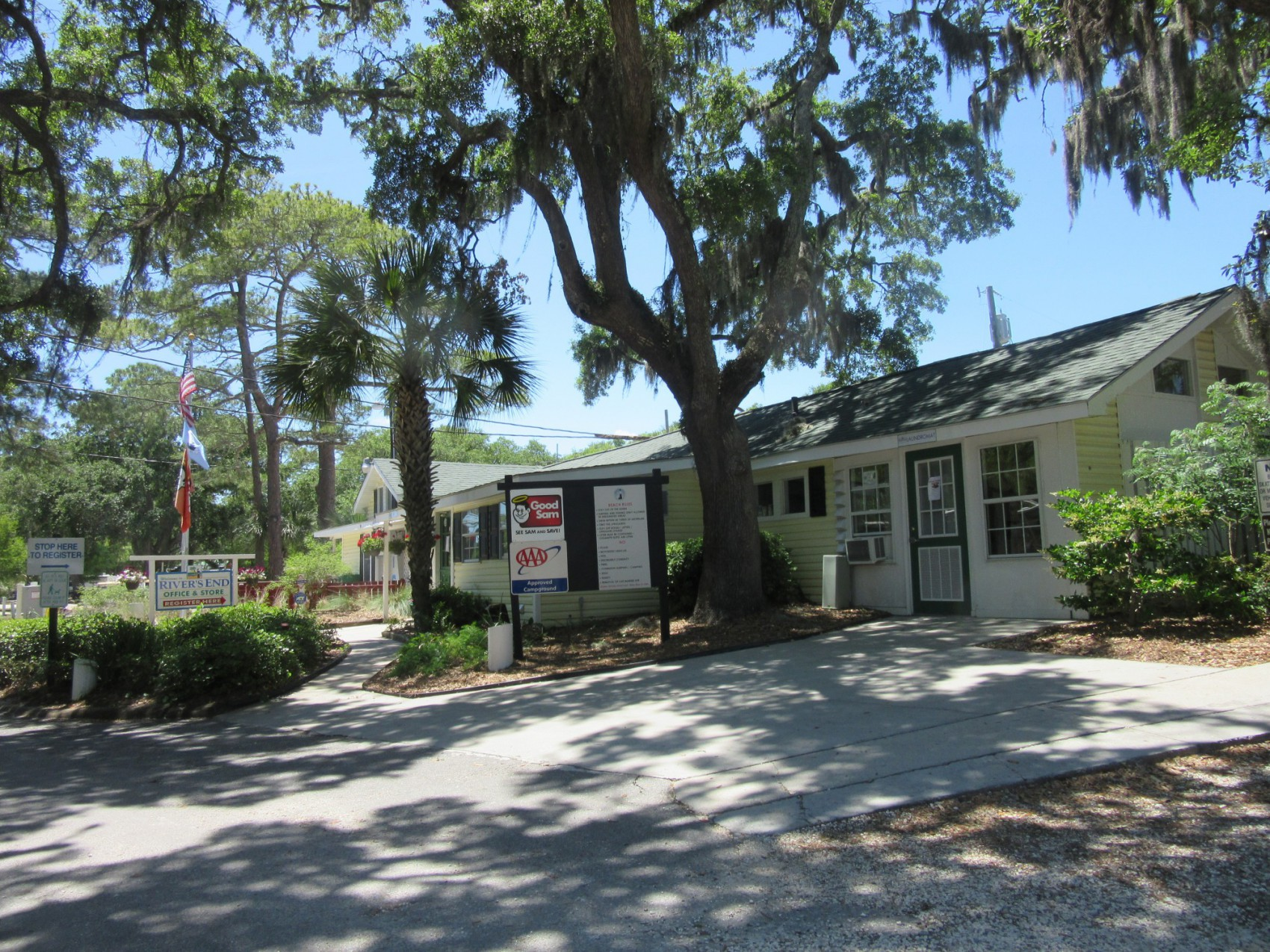 River S End Campground Amp Rv Park Tybee Island Ga Home