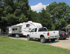 Site 18 at Green Acres RV Park