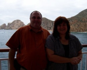 Cruising the Mexican Riviera in 2009 (month before my cancer surgery)