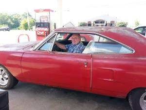 1970 Plymouth Jim was restoring