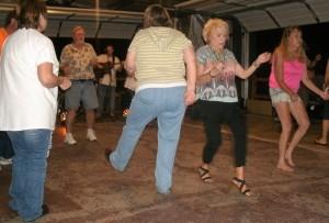 Dancing individually