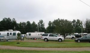 Site after site of Airstreams