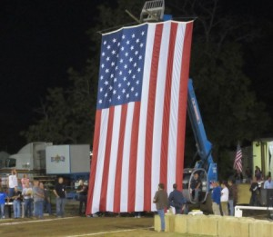 Nice flag presentation