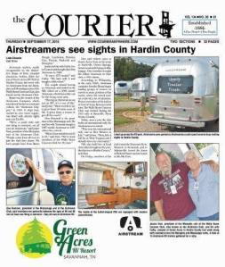 Courier article