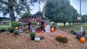 "Festive Fall Decorations at Green Acres (Note: I ""borrowed"" all photos in this post from GA's Facebook page)"