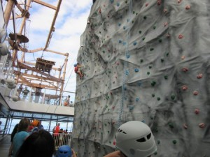 Wall climbing and plank walking for the adventurous