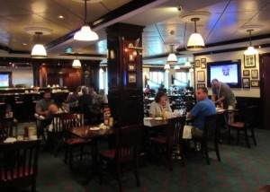 Casual dining in O'Sheehan's