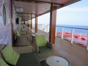 One of my favorite deck areas - it was often mine alone