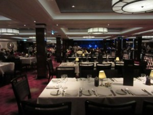 Elegant dining with entertainment in the Tropicana