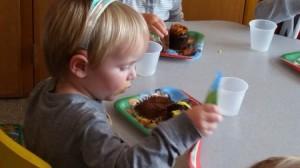 """Sammy's """"school"""" birthday party"""