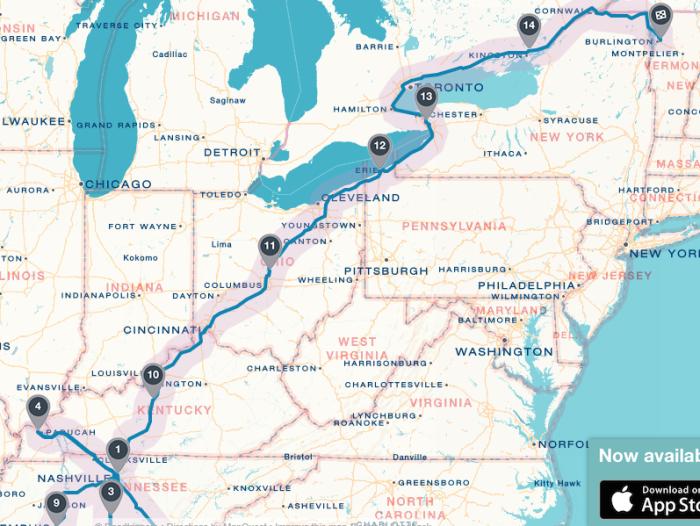 July 2016-Map