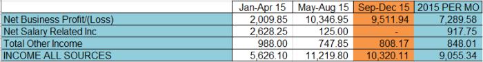 2015 income
