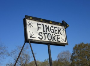 One of the businesses in Finger, TN