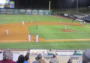 Bases loaded often leads to several runs for the Generals.