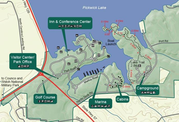 Pickwick Park Map