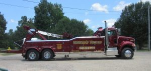 The big rig tow truck