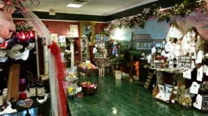 Part of the gift shop