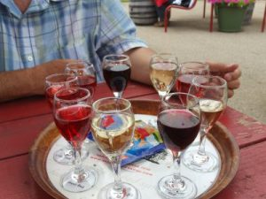 Wine sampler tray - all of this for just $10!