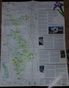 Our National Park map