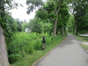 Tow Path Trail near visitors center