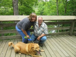 Angela, Jimmy, & Chewie Cuyahoga Valley NP 2016