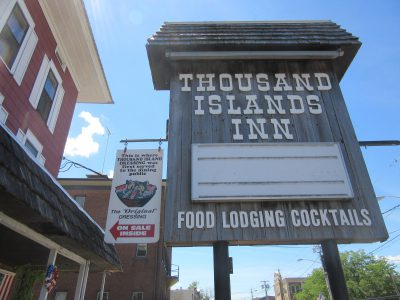 Thousand Island Dressing first served, and still served, and sold here