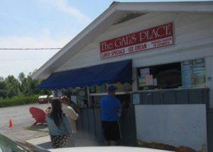 Gals Ice Cream - a very popular spot