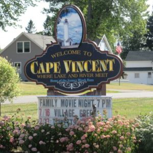 We made to Cape Vincent.