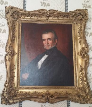 James K. Polk presidential portrait