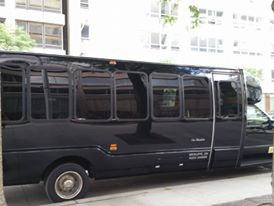 Limo buses we road in