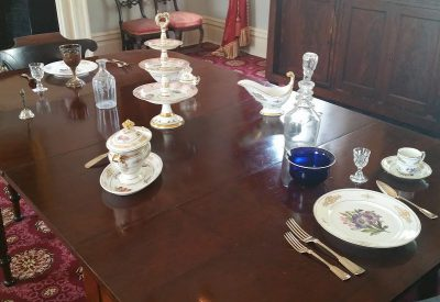 Polk presidential china