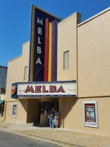 The renovated Melba Theater open for business