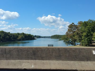 The White River at Batesville