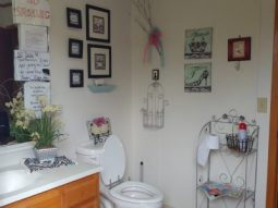 Women's toilet area