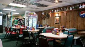 Inside PJs Rainbow Cafe
