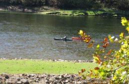 Folks enjoying the White River