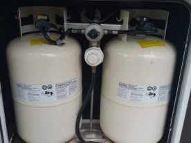 Our two propane tanks