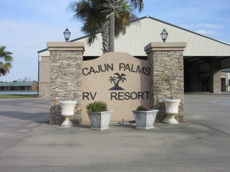 Cajun Palms Rv Resort Breaux Bridge La Home On The Roam