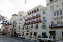 Casa Monica hotel - built by Smith; purchased by Flagler